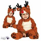 Baby Toddler Christmas Xmas Reindeer Fancy Dress Costume Outfit Nativity Novelty
