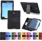 3in1 Heavy Duty Hybrid Shockproof Tablet Case Stand For Samsung Galaxy Tab A E 4