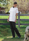 Uncommon Threads Women Chef Pants, 3 Pockets, Towel Loop, XS to 2XL, 4101 Black