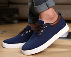 New Men's Fashion Sneakers Casual Canvas Elevator Height Increasing Shoes