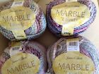 JAMES C BRETT MARBLE CHUNKY KNITTING WOOL 1X200G BALL YARN KNIT VARIOUS COLOURS