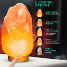 Natural Himalayan Electric Salt Lamp Crystal Light 4-6KG Ioniser Pink Rock Bulb