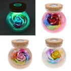 LED RGB Remote Dimmer Rose Bottle Lamp Creative Romantic change Colour Light New