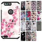 For ZTE Blade Z Max HARD Astronoot Hybrid Rubber Silicone Case + Screen Guard