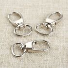 Wholesale 20Pcs Lobster Swivel Clasps Clips Bag Key Ring Hook Keychain DIY