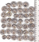 Lot of 40 MEN WATCHES WOSTOK Vintage Movements Steampunk Art  or for parts