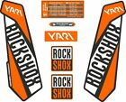 ROCKSHOX YARI 2016 FORK DECALS  Stickers