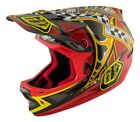 Troy Lee Designs 2017 D3 Carbon MIPS Helmet Longshot Red Adult All Sizes