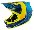 Troy Lee Designs 2017 D3 Composite Helmet Starburst Yellow Adult All Sizes