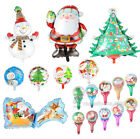 Christmas Santa Claus Snowman Latex Foil Balloon Kids Gift Party Favor