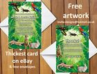 Jungle / Zoo Animal Birthday Party Invitations / Thank you Cards Free Envelopes