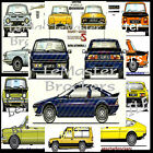"""POSTER AFFICHE AUTO MATRA BAGHERAA 530 RANCHO SIMCA 1200/S COUPE RALLY 2 """"1976"""""""