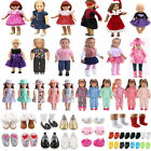 100 Dress Outfit Wear Set For 18inch American Girl Our Generation/My Life Doll