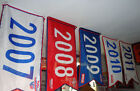 PHILLIES PENNANT FLAG BANNER PICK A YEAR:1915-1993-2007-2008-2009-2010-2011 SGA on Ebay