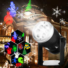 Christmas Sparkling LED In/Outdoor Garden Laser Projector Lawn Lamp Fairy Light