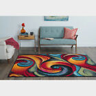 Contemporary Abstract Multi Color Area Rug *FREE SHIPPING*