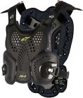 Alpinestars Adult Motorcycle A1 Chest Protector Black M-2XL