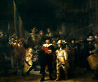 Nightwatch by Rembrandt (classic Dutch military print)