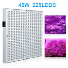 Reflector 45W 255 LEDS Grow Light Full Spectrum Veg Bloom Indoor