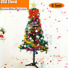 300 Heads 1.5M / 5 ft Artificial Christmas Tree + LED Lights + Décor Accessories