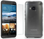 PUREGEAR SLIM SHELL CASE + TEMPERED GLASS SCREEN PROTECTOR FOR HTC ONE M9