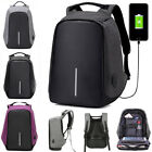 Fashion Anti-theft USB Charging Travel School Bag Laptop Notebook Backpack