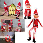 NAUGHTY ELFS XMAS DECORATION FUNNY TOY CHRISTMAS HOME 30CM ELVES ELF PLUSH GIFT