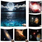 1pc New Starry Sky Stars Universe Wall Tapestry Beach Scenery Stars 3D Tapestry