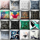 BA_ IRREGULAR GEOMETRIC PATTERN PILLOW CASE THROW CUSHION COVER HOME DECOR FUNNY