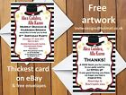 Personalised Magic / Magician Themed Birthday Party Invitations Boys Girls