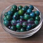 Wholesale 4~10mm Natural Chrysocolla Gemstone Stone Round Loose Spacer Beads Lot