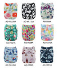 Kyпить ALVABABY All-In-Ones Cloth Diapers Reusable Nappy Sewn-in 4-layers Bamboo Insert на еВаy.соm