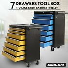 Shogun 7 Drawers Mechanic Tool Box Cabinet Toolbox Trolley Roller