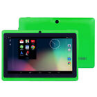 "7"" Android Tablet 8GB Dual Camera 4.4 Quad Core Kids WIFI HD Touch Screen PC UK"