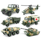 1:64 Military Army Truck Car Model Diecast Vehicles Collectible Children Toys