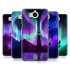 HEAD CASE DESIGNS NORTHERN LIGHTS BACK CASE FOR HUAWEI Y6 (2017) / NOVA YOUNG