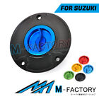 CNC Racing Quick Lock Fuel Cap EDO Fit GSXS 750 1000 F ABS GSX-R 600 / 750 1300R