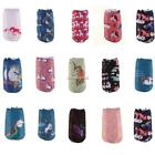 Women Socks Soft Cartoon Horse Print Low Cut Casual Sport Short Socks N4U8