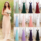 Ever-Pretty Long Bridesmaid Dress Peach Evening Gowns Cocktail Party Dress 08697
