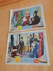 2 Old MOULIN ROUGE original Movie lobby card JOSE FERRER 1952 Free Shipping
