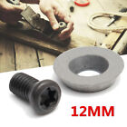 1/5/10PCS 12mm Round Carbide Insert Cutter with Screws for Wood Turning Tool