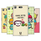 HEAD CASE DESIGNS KAWAII MACARONS SOFT GEL CASE FOR SONY XPERIA XZ1 COMPACT