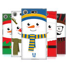 HEAD CASE DESIGNS MR SNOWMAN SOFT GEL CASE FOR SONY XPERIA XZ1 COMPACT