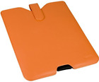 Ipad Leather Case-Orange  AC NEU