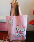 Women Hello Kitty Canvas Cotton Travel Organiser Shopping Library Carry Bag