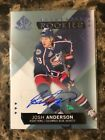 2015-16 SP Game Used Josh Anderson Authentic Rookies Auto #118 Columbus