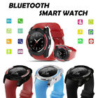 For Android Samsung HTC LG Bluetooth Smart Watch Phone Mate GSM SIM w/ Camera