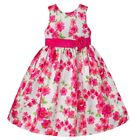 Girls AMERICAN PRINCESS floral boutique dress 4 5 6 NWT Easter party pink white