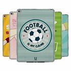 HEAD CASE DESIGNS FOOTBALL STATEMENTS SOFT GEL CASE FOR APPLE SAMSUNG TABLETS
