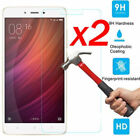 2pcs 9H Tempered Glass Screen Protector Film For XiaoMi Redmi Note 3 4 Pro 4X 3S
